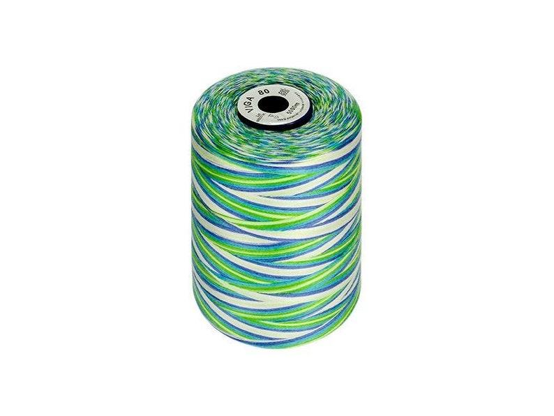 VIGA 80 Multicolor large spool 5000m Sewing Thread Universal Seving thread