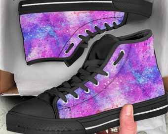 ae09809bc9 Galaxy glittery Shoes