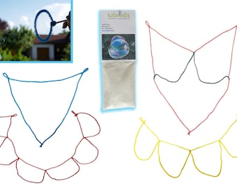 Kidzmedia - Giant soap bubbles cords without rods or powder for soap bubble solution children