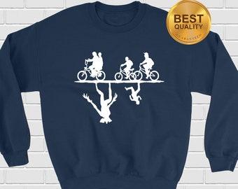 1782e4596e54 Stranger Things Sweatshirt, Stranger Things Pullover, Cycling Clothes, Stranger  Things Merch, Stranger Things Apparel