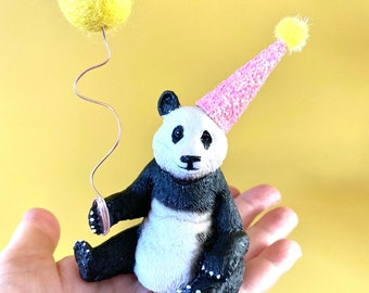 Panda Cake Topper-Wild One-Two Wild-Jungle Party-Zoo Party-Zoo Animal-Animal Cake Topper-1st Birthday-2nd Birthday-Wild Party-Panda Party