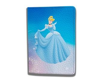 c654d4d21 cinderella princess passport Disney cartoon passport Passport Case Passport  Holder Passport Leather case Travel holder Passport wallet
