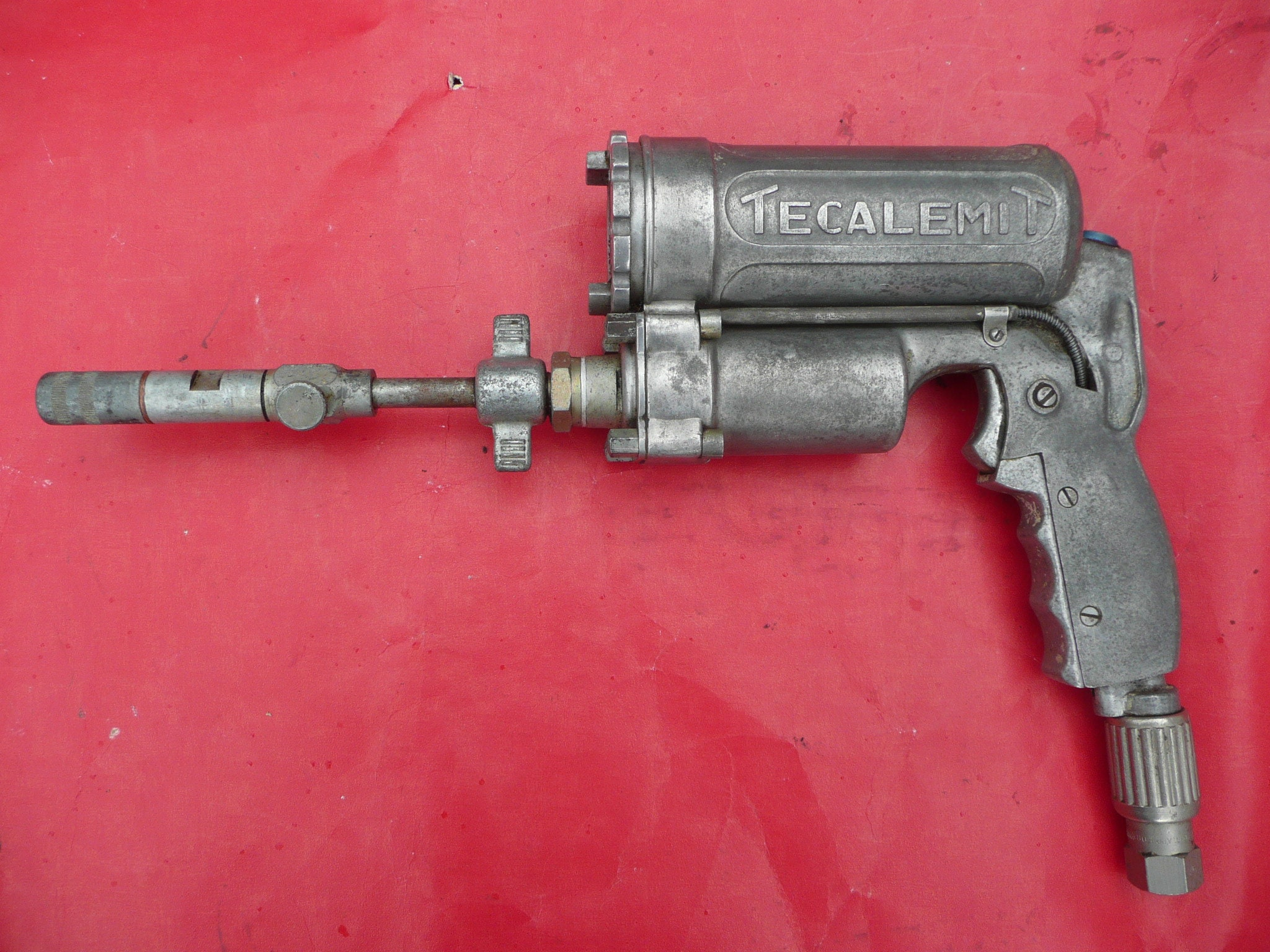 Vintage Industrial Tool 1950s Space Age Atomic Look Cast Aluminium Raygun Sci Fi Dan Dare Look Man Cave Decor