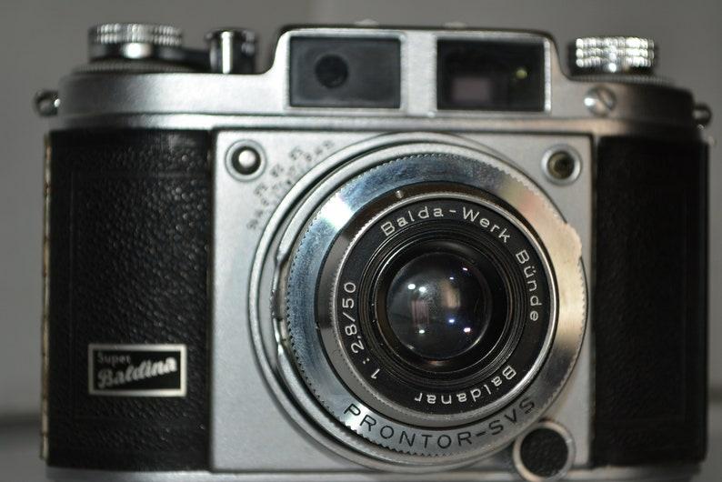 Balda Super Baldina 35mm camera with Baldanar 2,850mm lens Visual ...