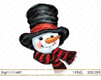 snowman clipart etsy snowman clipart etsy
