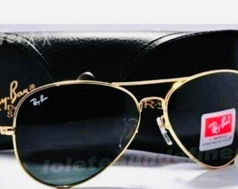 d0b2dd2ddba Vintage Ray-Ban Aviator Sunglasses POLARIZED