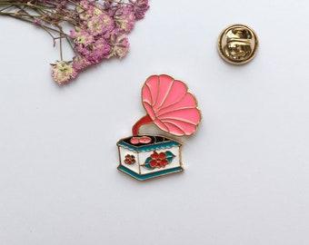 Vintage enamel pin   Etsy