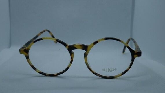 dd3fe5d36b7 Genuine Vintage Round Optical Glasses Frames