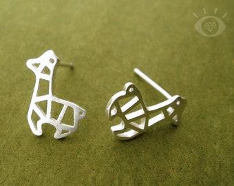 b7c01541b Tiny Geometric Llama Sterling Silver Stud Earrings, Llama Earrings, Llama  Jewelry, Alpaca Jewelry, Silver Llama, Llama Gift, Alpaca Gift