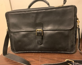 8dc7db238d2a Coach Black Leather Computer Bag from Sept 1997 (shipping included)