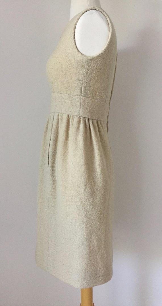 Ivory I. Magnin Boucle Tank Dress - image 3