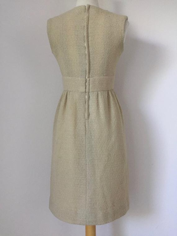 Ivory I. Magnin Boucle Tank Dress - image 4