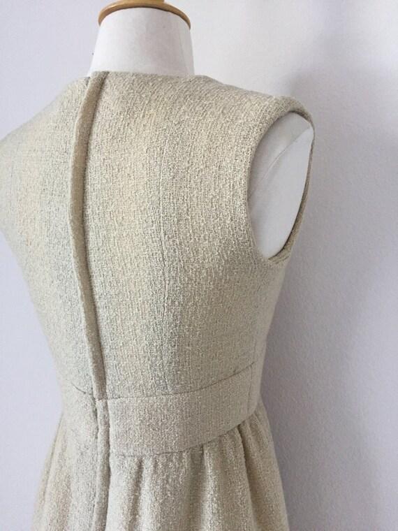 Ivory I. Magnin Boucle Tank Dress - image 5