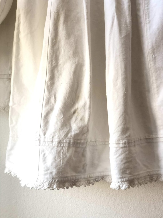 Antique Hungarian Embroidered Cotton Peasant Blou… - image 6