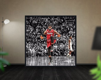 a953c93a7f6 Cleveland Cavaliers LeBron James NBA Photo Poster Size  12x12