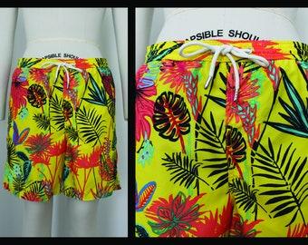 58f4ec65e2911 Beach Shorts, Medium, M, Summer Vacation Pants,Trunks,Swim Wear, yellow