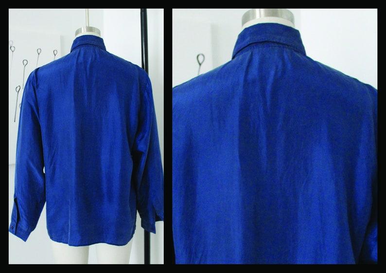 Hipster Oxford Vacation Long sleeve Silk shirt Hippie vintage mens button down,90s,100/% silk shirt,size M,Medium