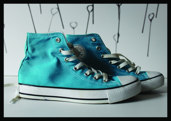Vintage Converse Sneakers,blue, High, Boots, All S