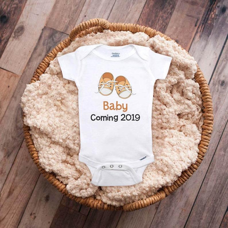 Surprise Pregnancy Announcement Baby Due 2019 Baby Arriving Soon