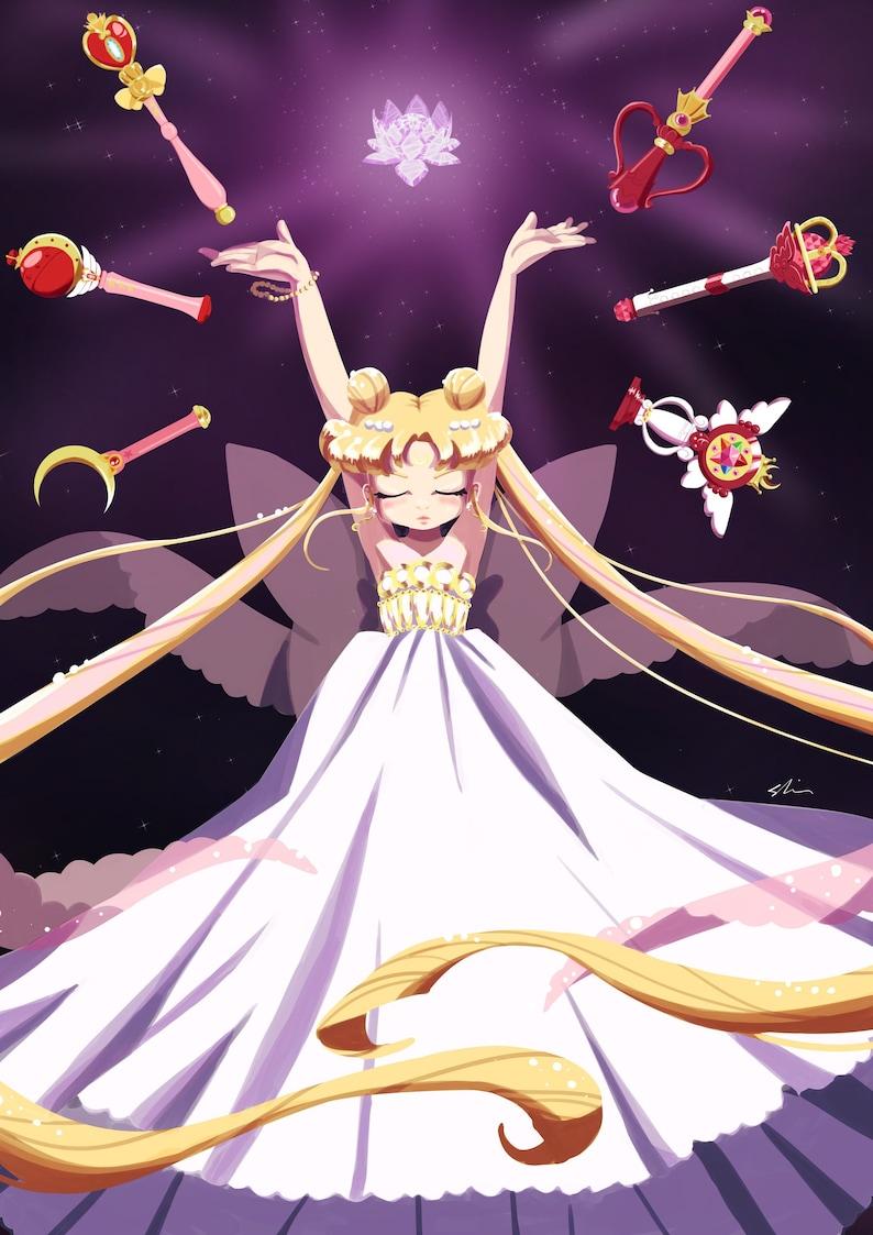 Princess Serenity A4 print