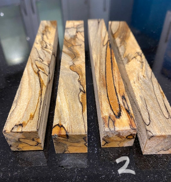 Spalted Beech Woodturning Pen Blanks Stunning Exotic Hardwood Blank Wood Turning