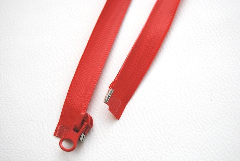 Zipper Zipper waterproof divisible TPU 50 55 60 65 70 75 80 85 100 matt