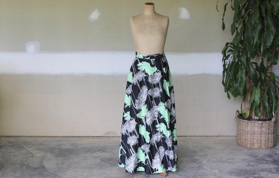 Vintage Floral Wrap Skirt l Feather Wrap Skirt l 6