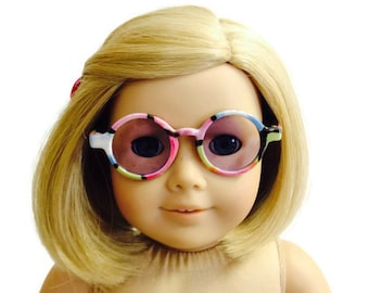 """Purple Lens Sun Glasses made for 18/"""" American Girl Doll Clothes Accessories"""