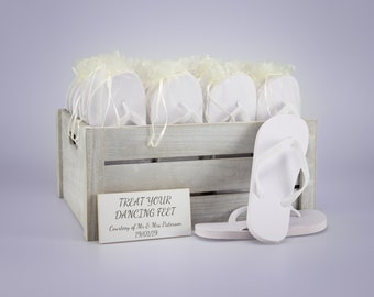 780769b135f6 Vintage Wedding Flip Flop Crate
