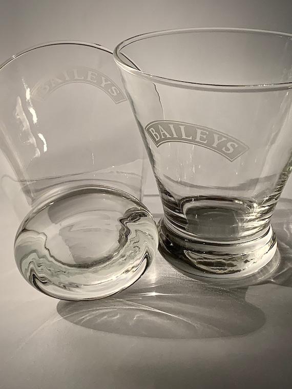 Bailey/'s Irish Cream Tapered Logo Glass Collectible Gift