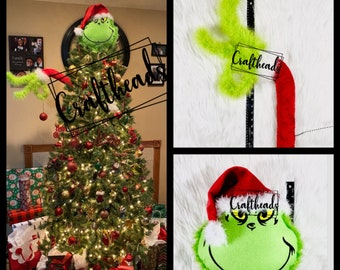 The Grinch Christmas Decoration Etsy