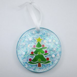 Candy Filled Resin Christmas Ornaments 2