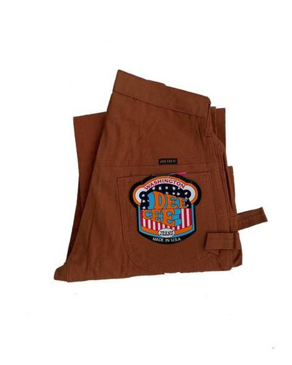 Painter Pants / 1970s Deadstock Dee Cee / Rust / H
