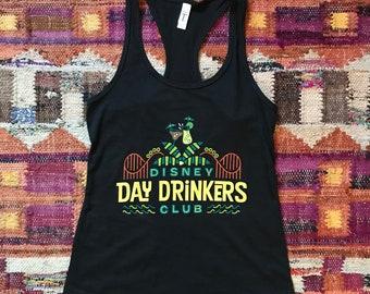 7cafbc00bf96f Disney Day Drinkers Club Tank Top   Disney Shirts   Women s Disney Tank    Drink Around the World