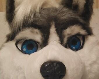 Ready fursuit husky the dog