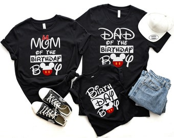 bcd8a0d5 Family birthday matching shirts, Mickey Mouse shirt, Mickey Mouse birthday  shirt, Mickey ears, Mickey party shirts, Disney birthday shirts