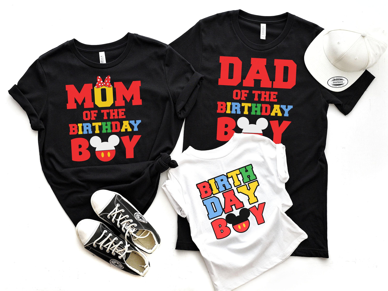 Mickey Birthday Shirts For Family Disney