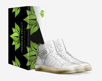 fd6a1fc7f2430 WILSON Premium Vegan Italian Luxury Handmade Retro Basketball Sneakers  Payment Plan Available