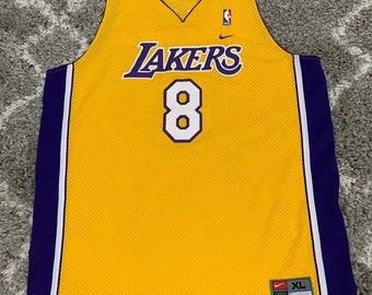 6c5eeefd8fd2 Authentic NBA Lakers Kobe Bryant Nike Jersey