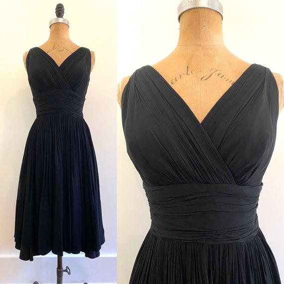 Gorgeous Grecian Vintage Dress | 1950s Vintage Dre