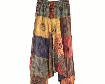 Handmade Cotton Yoga Pants