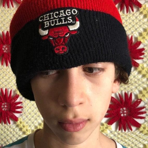 Vintage 90's Chicago bulls tuque