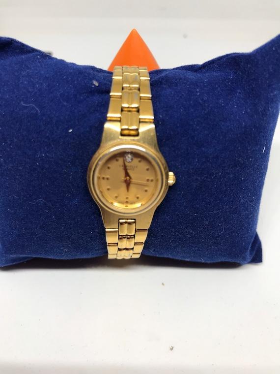 Gold 1992 Caravelle by Bulova Quartz Women's Wrist