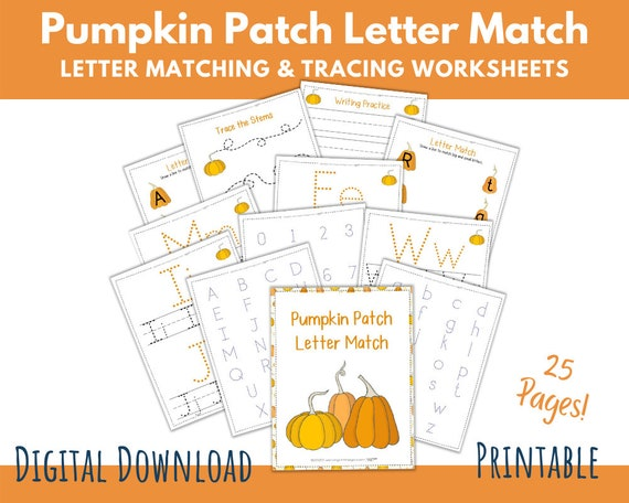 Letter Matching Alphabet Tracing Worksheets Handwriting