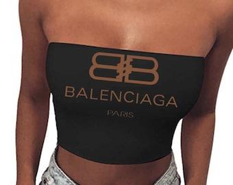29648479154 Sexy Balenciaga Inspired Tube top