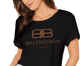 f909638766e Custom Inspired Balenciaga Crop Top
