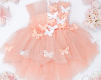 Personalized Butterfly Baby Dress