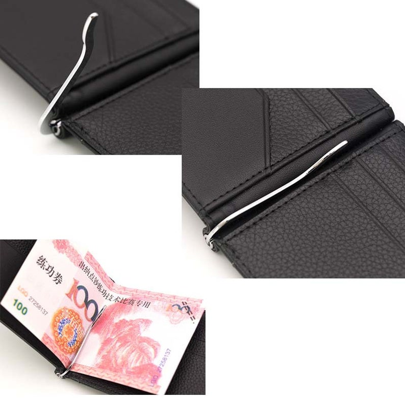 30pcs 5colors 75mm 80mm 85mm 90mm leather wallet clip handmade purse hardware money holder clip