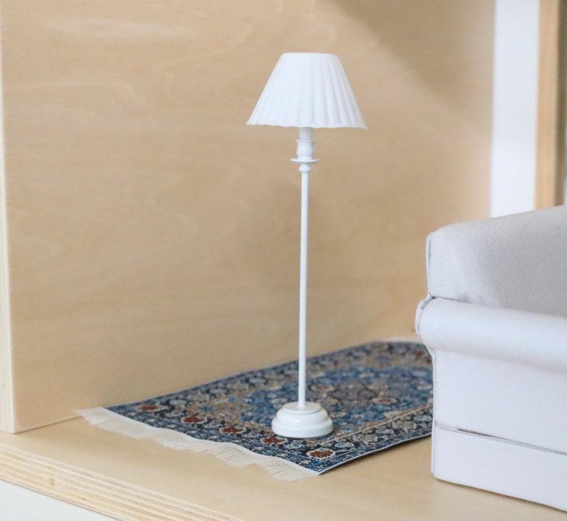 1//12 Dollhouse Miniature Furniture Floor Lamp /& Table Lamp Light Model