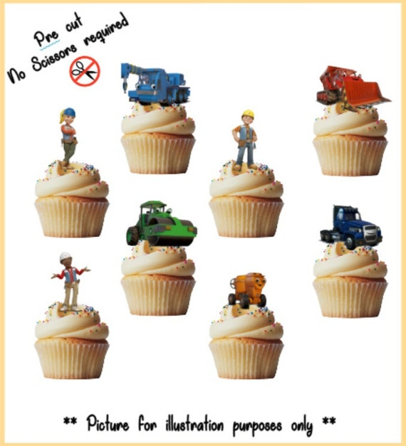 Standup Fairy Decorations Fathers Day Daddy Edible Cup Cake Toppers Super Dad